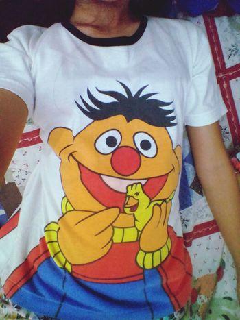 """My """"Ernie the Puppet Shirt"""". Sesamestreet My Shirt I Love My Shirt"""
