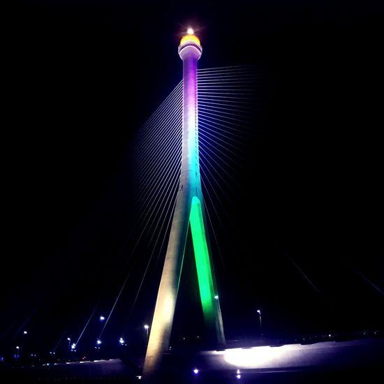 Architecture Eyemphotography Eyemart Brunei Darussalam Bridge - Man Made Structure City Night Illuminated Engineering The Architect - 2018 EyeEm Awards