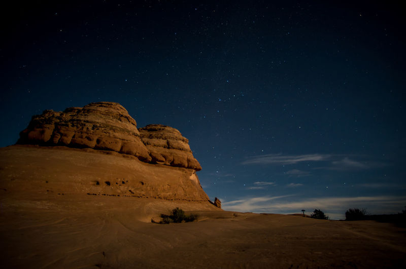 Moab under the stars