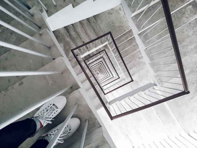 VSCO Vscocam Spiral Staircase Sneakers