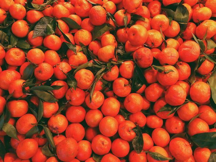Clementine Fruit Food And Drink Healthy Eating Freshness Full Frame Abundance Food