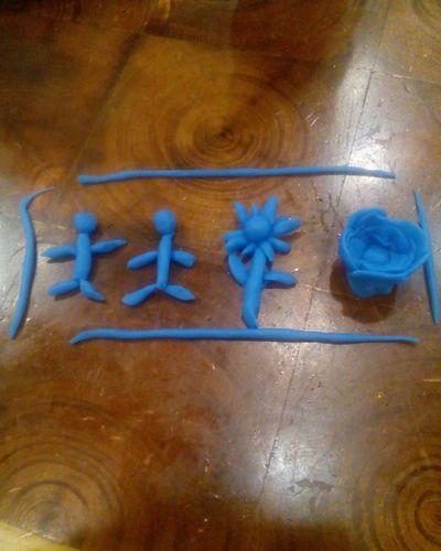 things Blue Table Flower Coklat چوقلـــــت No People Figure