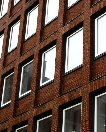 Hamburg EyeEm Selects Streetphotography Window University Architecture Close-up Building Exterior Built Structure Brick Wall Façade Office Block Townhouse Old Town Repetition Office Building Backgrounds Brick Weathered Exterior Row House The Architect - 2018 EyeEm Awards