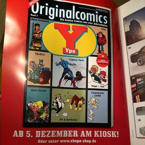 Ab 5.Dezember am Kiosk Deines Vertrauens, Originalcomics aus'm Ypsheft Yps OperationKindsKopf :-)