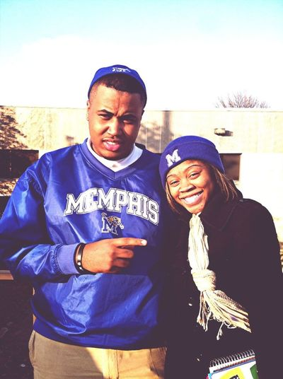 Me and my sis #UofM