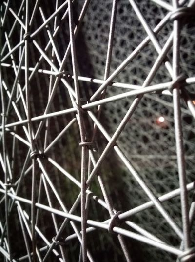 Pordenone Italy Night Photography Night Lights Night Shades Artistic Installations Steel Wires Intersections Junctions Links Pattern Pieces Mobile Photography Art Fineart Mobile Editing