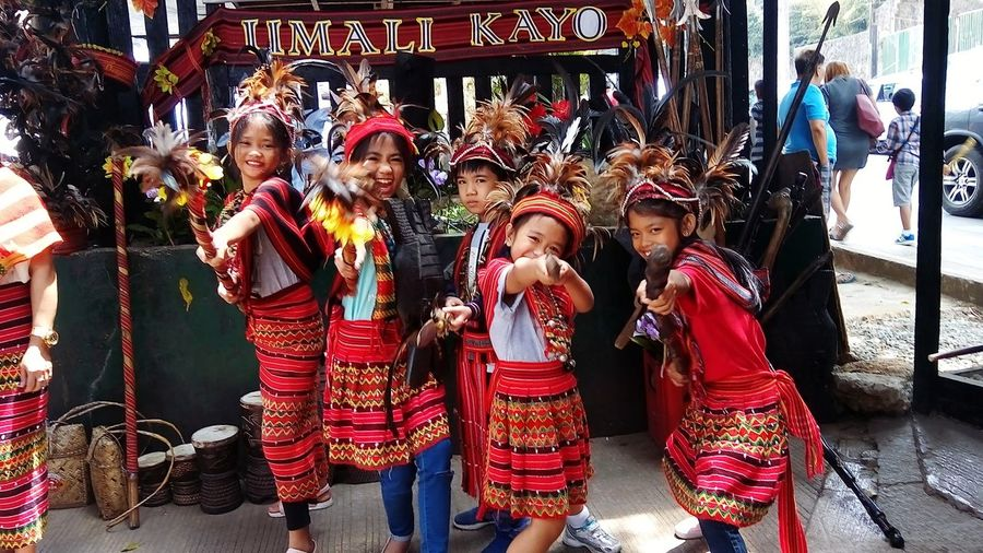 ifugao warriors Young Girl Group Photo Costumes Ifugaoscostume Ifugao, Philippines Warriors Celebration Female Likeness Stories From The City Inner Power This Is Queer