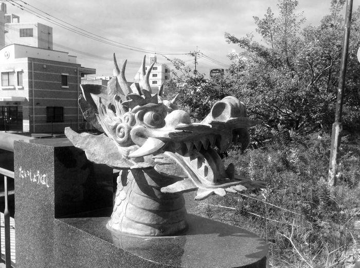 大牟田の大蛇。一昨年の写真から。 Daija