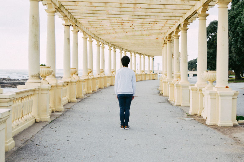 Path Alone One Person Showcase March Standing Boy Day Filmisnotdead EyeEm Best Shots Depth Of Field Amazing VSCO Motion Man Ocean Architecture EyeEm Gallery Sea Hello World Nikon