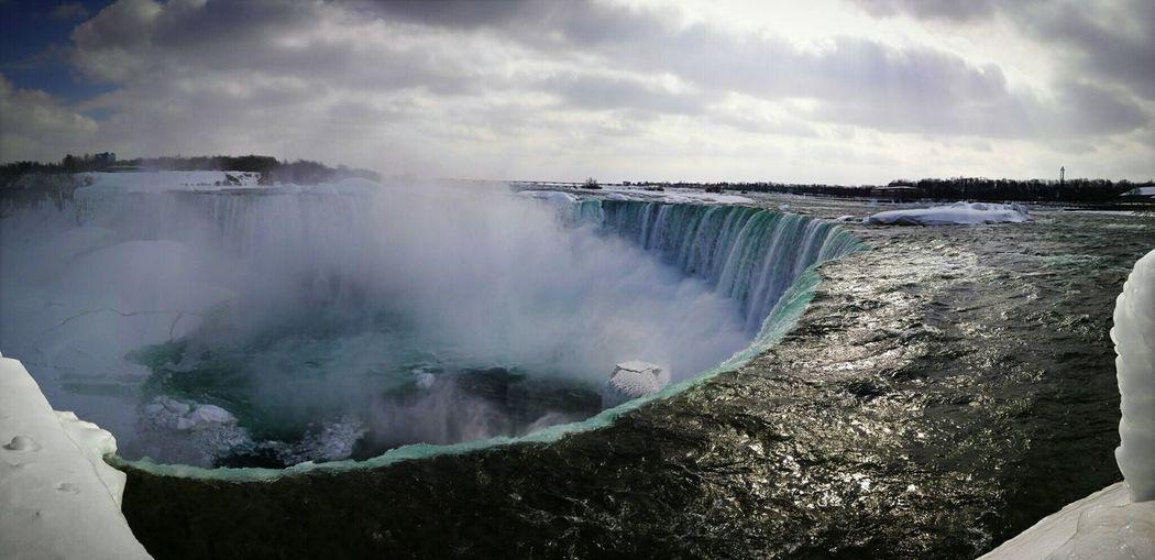 Ice Falls~Niagara falls