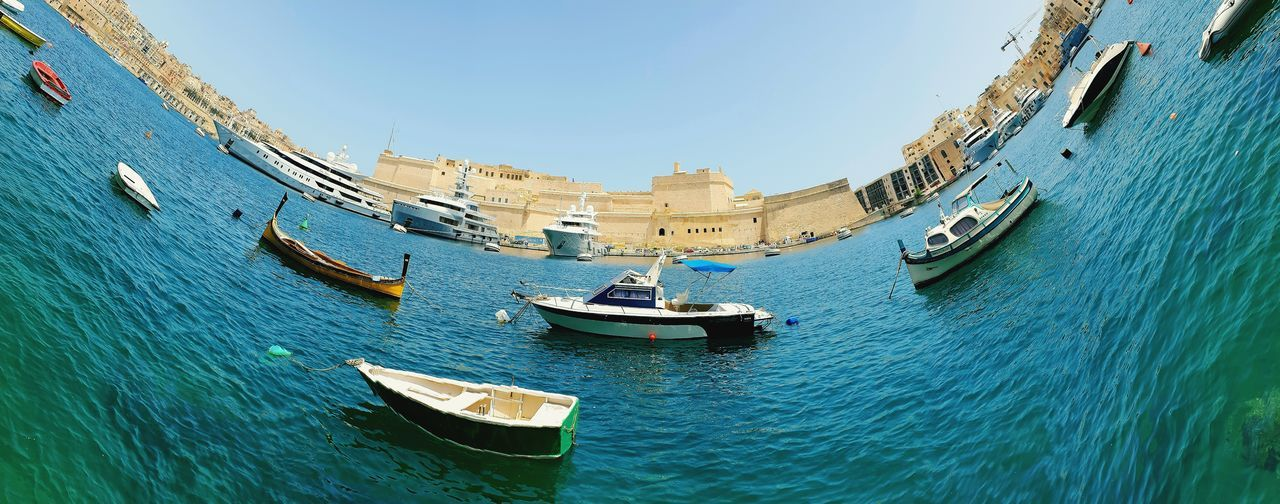 skew curve panoramic perspective Wave EyeEmNewHere #panorama #colours #pictures #beautiful #photography Malta♥ Malta In My Eyes Maltaphotography Boats⛵️ Panoramic Picoftheday Panoramic Photography Perspective Waterfront Nopeople Water Nautical Vessel Gondola - Traditional Boat Mountain Sailing Ship Sea Sky Boat Mast Sailing Boat Dock Harbor Cleat The Traveler - 2018 EyeEm Awards