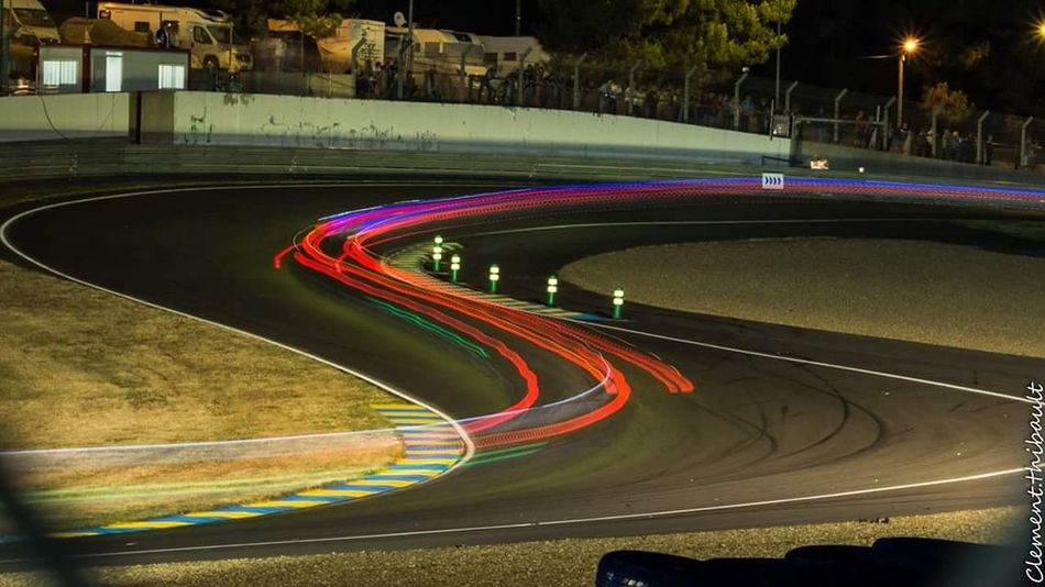 Road Speed Car Curve Night Driving Light Trail Asphalt Red Outdoors Running Track 24h Lemans24hr Lemans 24hlemans Race Racetrack Raceday Race Course EyeEmNewHere
