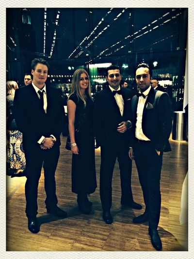 Gala with friends