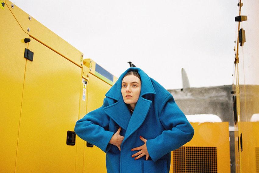 Sophie Bogdan 35mm 35mm Camera 35mm Film Ader ADER Error Analog Analogue Analogue Photography Bird Blue Color Colour Film Film Photography Filmcamera Filmisnotdead Yellow The Portraitist - 2017 EyeEm Awards