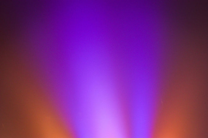 Colored spotlights illuminate haze that lingers in the evening air in Orlando, Florida. Abstract Backgrounds Beams Of Light Color Light Colored Haze Colorful Full Frame Illuminated Light Beams Lights Multi Colored No People Orange Pink Color Purple Simplicity Vibrant Color