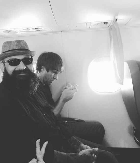 Drinks In The Air Day Drinking Legroom Transportation Mode Of Transport Lifestyles Travel Freelance Life Spector Bass Bassist Sky Flight View not sure who the dude next to me was but he was glued to his phone!