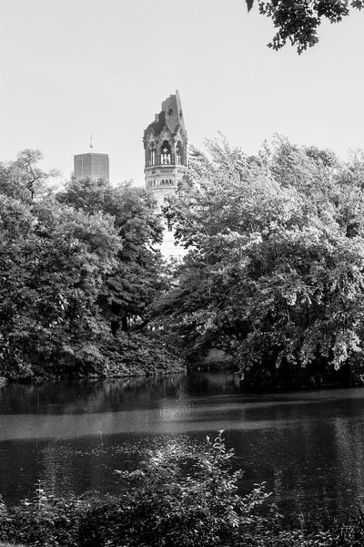 memories of Berlin, 1971 1971 Analogue Analogue Photography Berlin Gedächtniskirche Architecture Beauty In Nature Black And White Blackandwhite Building Exterior Built Structure Clear Sky Day Europacenter Germany Growth Lake Nature No People Outdoors Sky Tree Water Waterfront