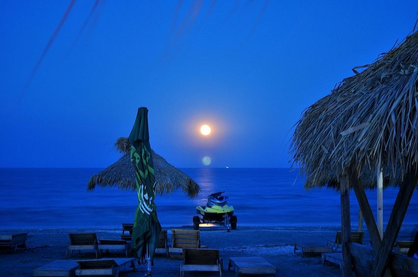 Beach Photography Beach Moon Nightphotography