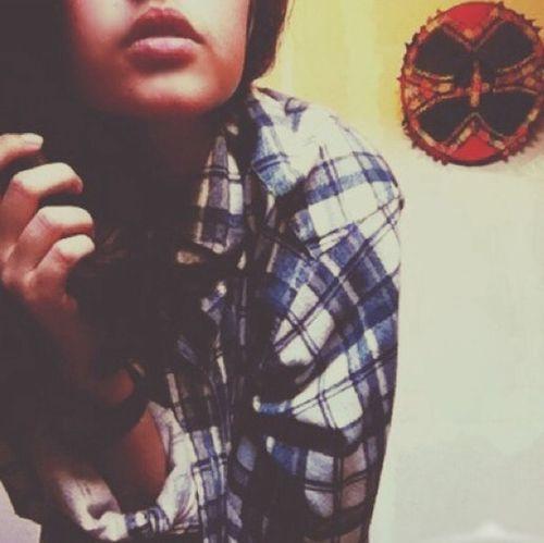 Selfie Lips Girl Vintage