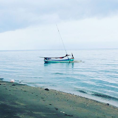 Beach Sea Tranquil Scene Coastline Nautical Vessel Nature Horizon Over Water Point Of View Beauty In Nature Tranquility Water's Edge