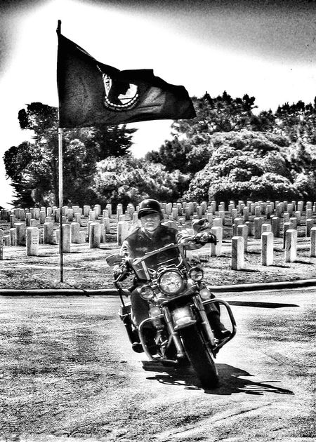 A rider who rode for others now rides ovrr us Enjoying Life Military Funeral Veterans Day Veterans To Remember Remember The Dead Military Blackandwhite Photography What Does Freedom Mean To You? Black And White Photography
