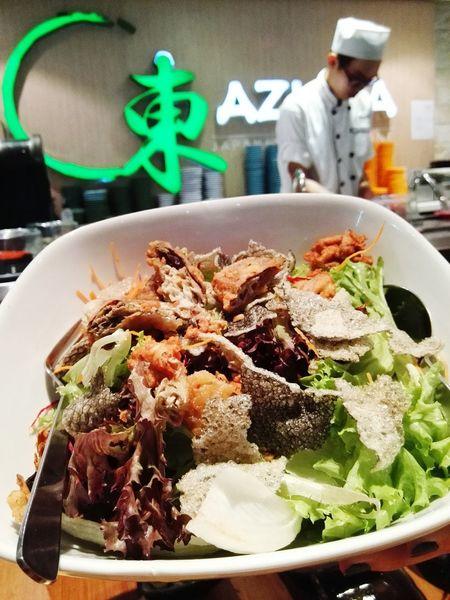 Softshellcrab Salad Japanese Style Japanese Culture Japanese Food Azuma