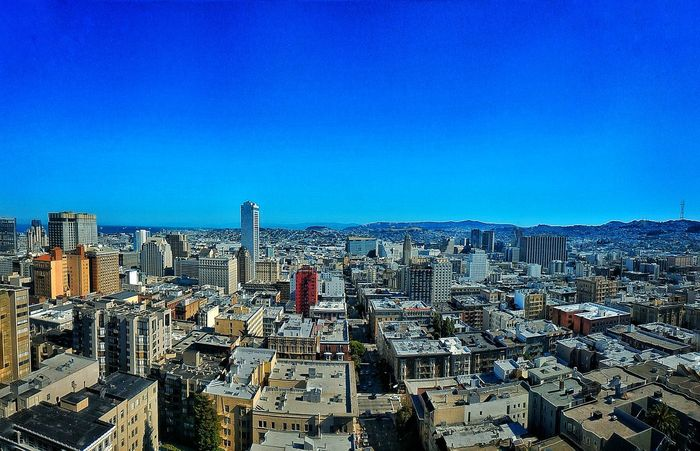 View of San Francisco from the Gramercy San Francisco, California California