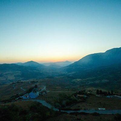 Crossing the hills of Sicilia Ventoura Sicily Italy Travel sunset