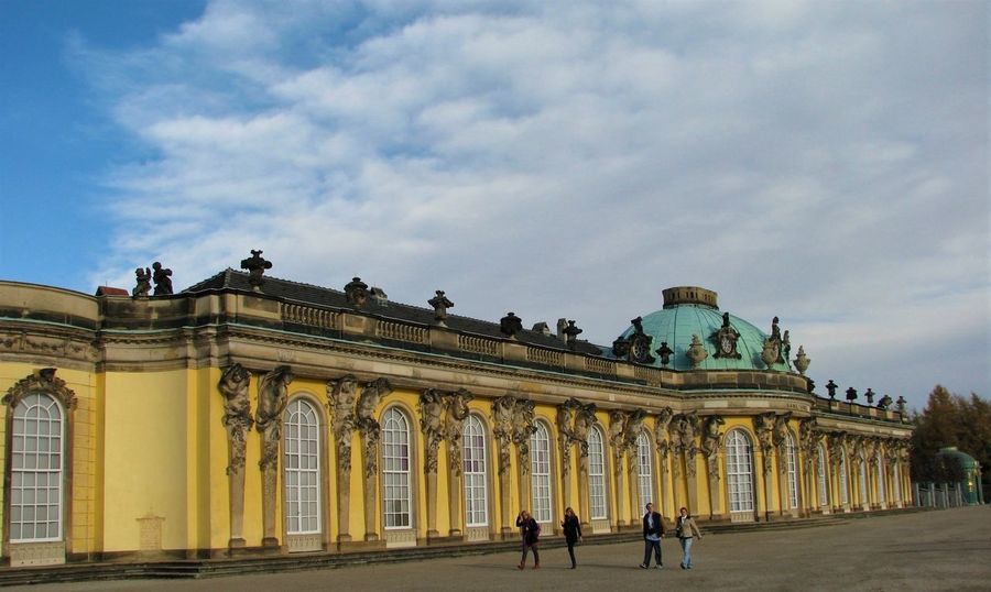 Deutschland Sanssouci Palace Travel Photography Traveling Travelling Architecture Building Exterior Façade Germany History Low Angle View Sanssouci Sanssoucipalace Travel Travel Destinations Traveller
