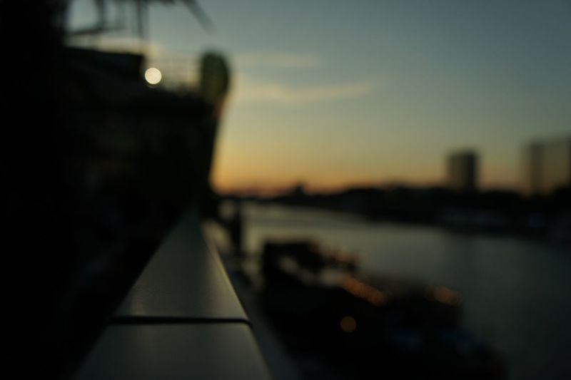 Colors of sun (set) (June 2014) The Illusionist - 2014 EyeEm Awards The Illuminator - 2014 EyeEm Awards Paris Quais De Seine Sunset Silhouettes Urban Playground Vanishing Point Depth Of Field