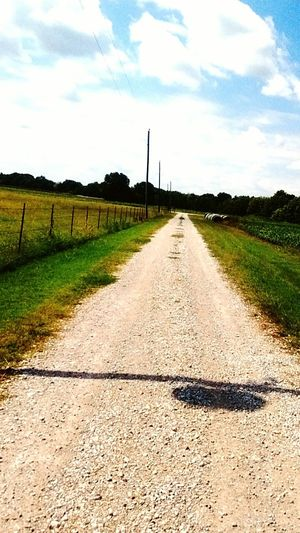 Empty Road 2016♡long road Diminishing Perspective Tranquil Scene Hello..get Outside My Year My View EyeEmNewHere