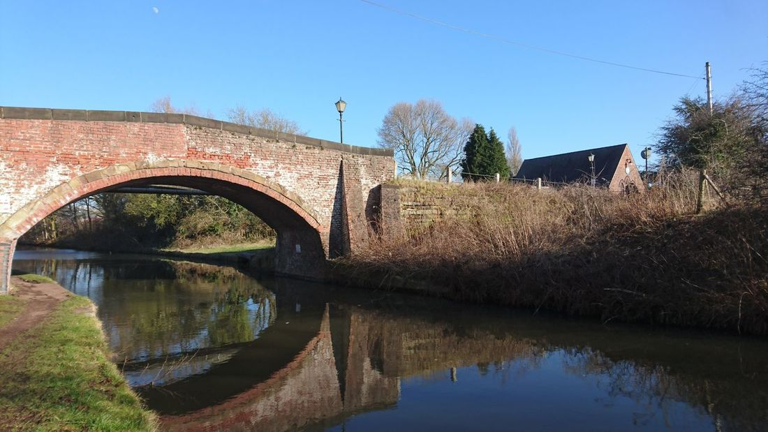 Canals And Waterways Reflections Water Reflection Bridge - Man Made Structure Day Outdoors Sky Architecture