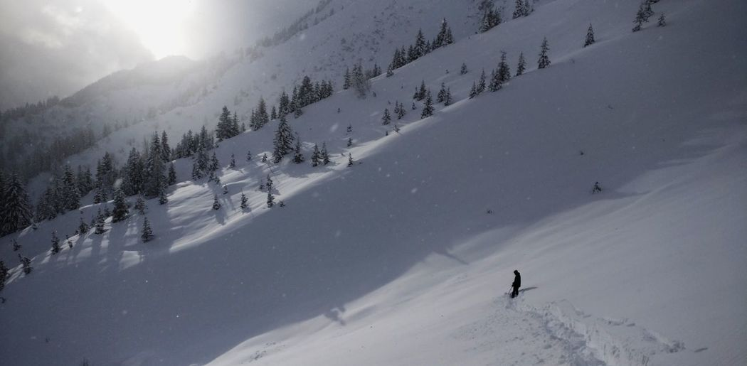 Snow Winter Skiing Cold Temperature Ski Holiday Winter Sport Mountain Vacations Sport Outdoors Leisure Activity Travel Destinations Full Length People Day Adventure Snowboarding One Person Adult Human Body Part Chamonix-Mont-Blanc Offpiste France