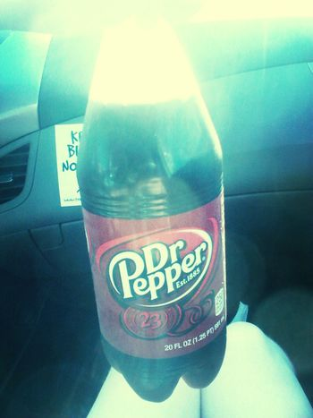 Dr.pepper love it lol team pepper