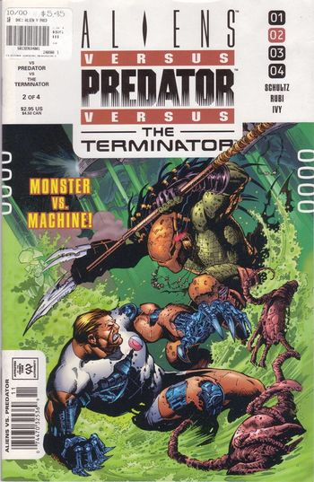 Aliens Vs Predator Vs The Terminator Vol2