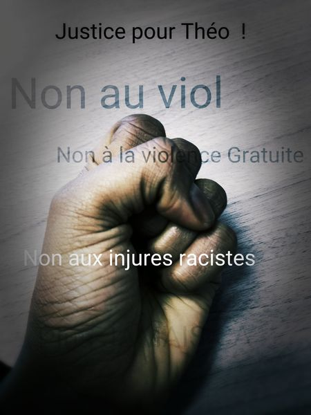 Human Hand Justice People Peace No Violence Share It To The World