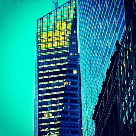 Glassbuilding Skyscraper 42 Street Taking Photos Buildings & Sky Architecture Newyorkcity