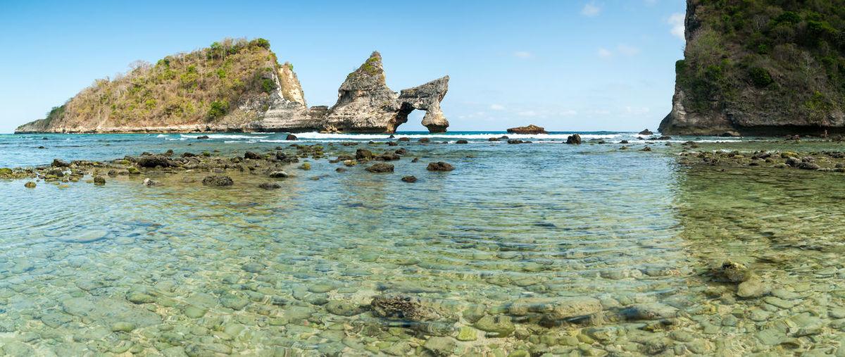 Water Rock Sea