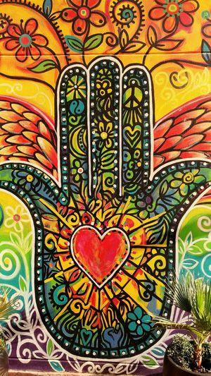 """Love"" Drawing - Art Product Multi Colored Backgrounds Wallmurals Outdoors WeekOnEyeEm Lifeinthemiddleeast Bahrainlife Illustration Creativemind Iloveit Paint The Town Yellow The Street Photographer - 2018 EyeEm Awards"