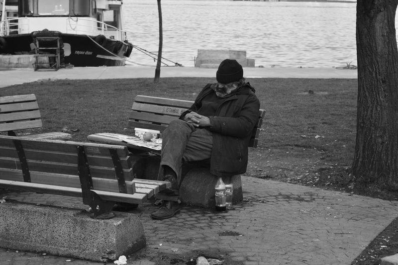 NikonD5200 Sunday Taking A Nap Homeless