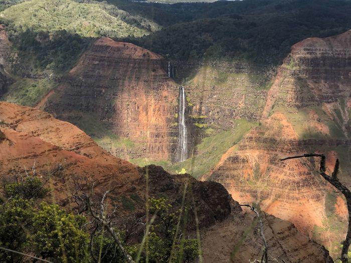 Waipoo Falls EyeEm Selects Eyeem Sea EyeEm Nature Lover Waimea Canyon Kailua  Rock Formation Rock - Object Mountain Nature Outdoors Scenics Day The Great Outdoors - 2018 EyeEm Awards