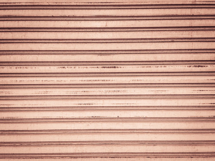 Vintage old roller shutter garage door. Grungy metallic roller shutter door for background. Backgrounds Brown Close-up Closed Day Full Frame In A Row Indoors  Iron Metal No People Pattern Plank Repetition Security Shutter Shutter Door Striped Textured  Wall - Building Feature Wood Wood - Material Wood Grain