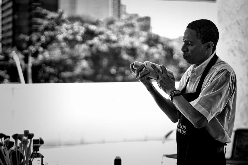 Bartender Blackandwhite Brazil Celebrate Cocktail Leisure Activity Party Salvador Shake