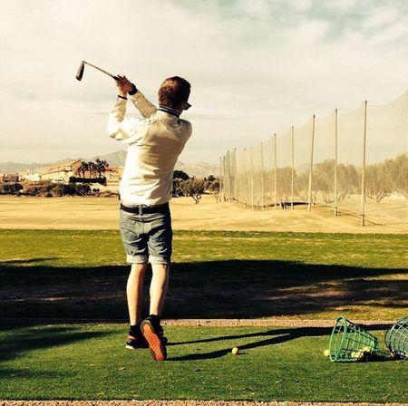 Hey kik me :) aa.lexx Hanging Out Hello World That's Me Golfing SPAIN Sports Sports Photography Kik :) Booyah