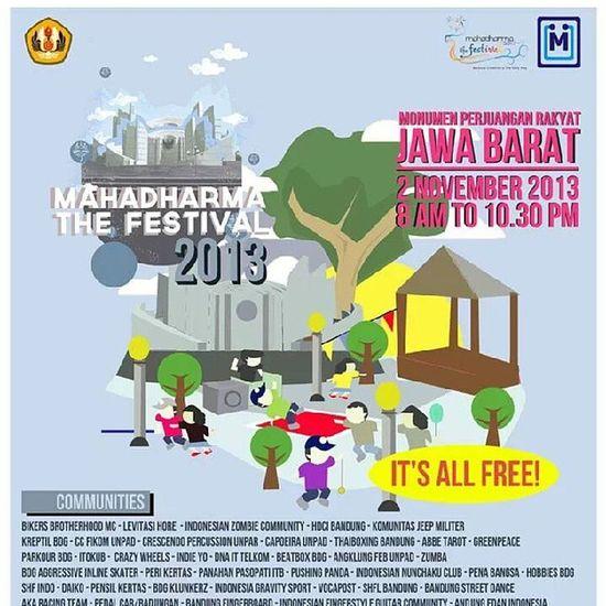 Mahafest Bandung Festival Monumen unpad bdg2nov