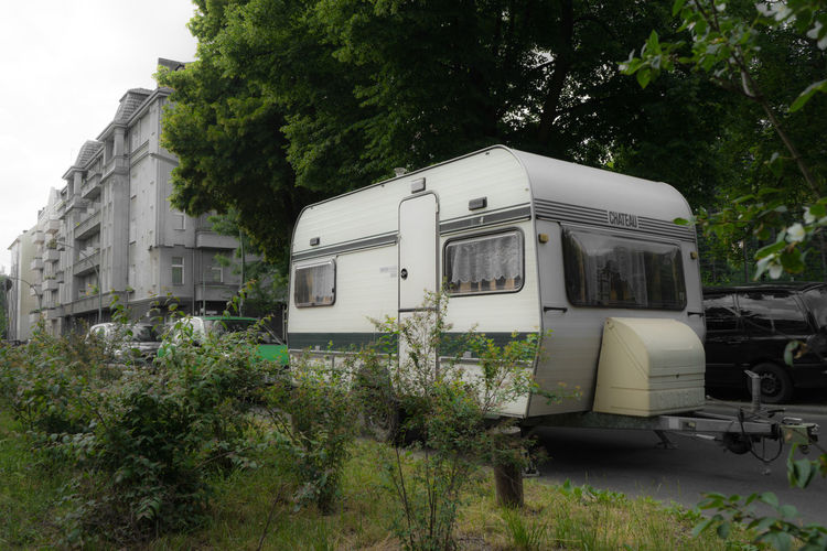 Camping Husvagn Campingwagen Wohnwagen Home Home Sweet Home Home Trailer Discover Berlin