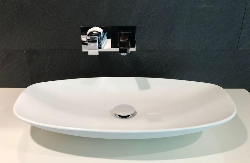 Wash basin and mixer tap bathroom design Bathroom Home Domestic Bathroom Domestic Room Faucet Sink Household Equipment Home Interior Bathroom Sink Indoors  Hygiene Modern Architecture Home Showcase Interior Wash Bowl Wealth Elégance