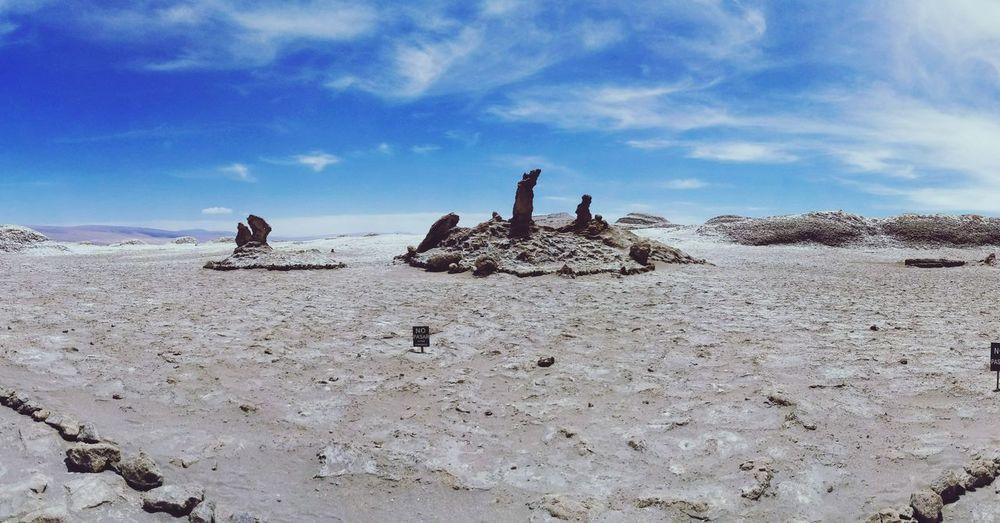 valle de la luna .chile. Valle De La Luna Chile♥ San Pedro De Atacama , Chile Tres Marias Sand Sky Nature Outdoors Day People Adult