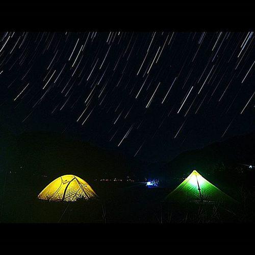 星とテント ローカスギア メンカウラシル モンベル 冬キャンプ 星 キャンプ