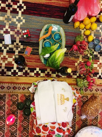 Passover Judaism Cultures Table Food Celebration Multi Colored No People Freshness Tradition Middle East Break The Mold Visual Feast Mezzomix